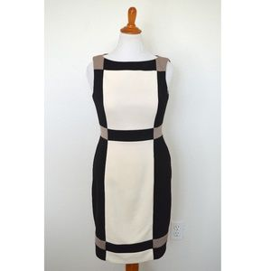 Maggy London Colorblock Sheath Dress